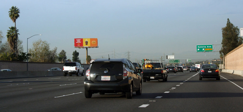 55 Freeway Billboard Katella Ave - City of Orange